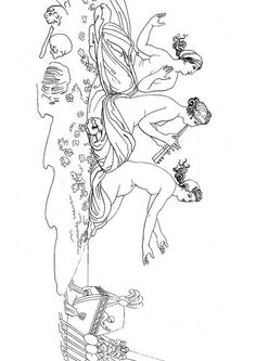 Oddyseus - The Sirens Free Coloring Sheets, Coloring Pages, Greek Art, Indian Paintings, Greek Gods, Line Art, Old Things, Greek Mythology, Art Journals