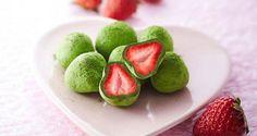 TRENDING IN JAPAN Covering Strawberries In Green Tea Chocolate
