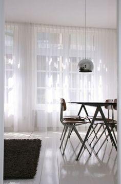 designer luxus Gardinenideen vorhänge fenster