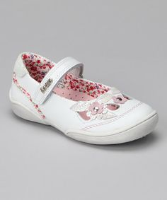 489b332adbe Take a look at this Pink Eyelet Champion Toe Cap T-Strap Shoe by Keds on  zulily  today!