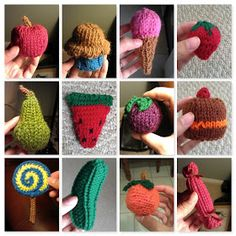 DIY knitted very hungry caterpillar patterns