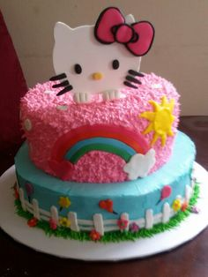 Hello kitty cake♡♡♡