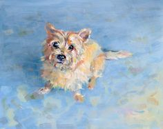 Cairn Terrier Painting. Love a Carin
