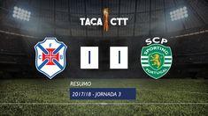 Taça CTT (Fase 3  Jornada 3): Resumo Os Belenenses 1-1 Sporting CP