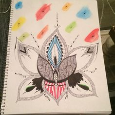My version of a lotus flower!!