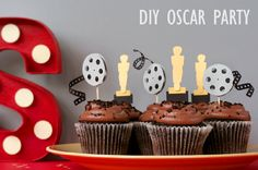 DIY Oscar Party ideas - Faux Marquee Letters