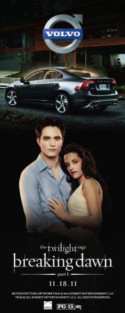 Volvo promo for Breaking Dawn---I'll take this Volvo!!