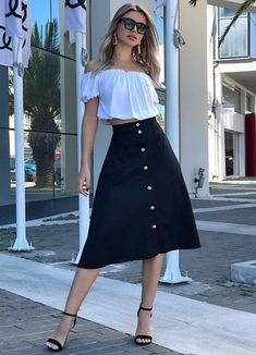 Check out this photo More Photos, High Waisted Skirt, Skirts, Check, Fashion, Moda, High Waist Skirt, Fashion Styles, Skirt