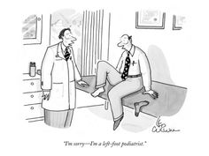 Don't worry, Dr. Bullard is a left AND right foot podiatrist!