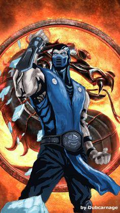 Sub-Zero by Dubcarnage on DeviantArt Scorpion Mortal Kombat, Mortal Kombat Art, Video Game Characters, Anime Characters, Shiro Anime, Mortal Kombat X Wallpapers, Ninja Art, Gaming Wallpapers, Video Game Art
