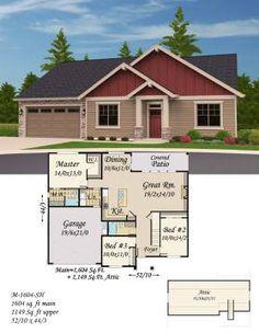 Economical single story house plans