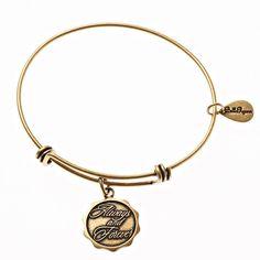 Bella Ryann Gold Plated Snowflake Charm Bracelet