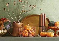 28 Fall Mantel Ideas | Midwest Living Autumn Decorating, Pumpkin Decorating, Decorating Ideas, Decor Ideas, Diy Ideas, Mantle Decorating, Creative Ideas, Interior Decorating, Craft Ideas