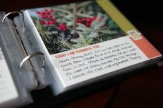 More 30 Days of Thankful. Share-a-Page Fridays. I want to make one of these little books this year. Mini Scrapbook Albums, Mini Albums, Scrapbook Pages, Book Journal, Little Books, Art Journal Inspiration, Smash Book, Mini Books, 30 Day