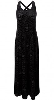 Killstar Stargazer Maxi Dress_blambetty