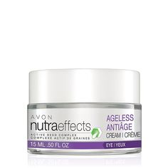 Introducing the NutraEffects product line. The Ageless Collection helps skin feel deeply replenished for visibly youthful, restored plumpness, while helping to reduce the appearance of lines and wr…