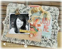 just me *heidi swapp mini memory file by Jame @kari alissa Peas in a Bucket
