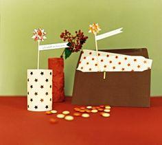 Un photophore en guise de carte de vœux