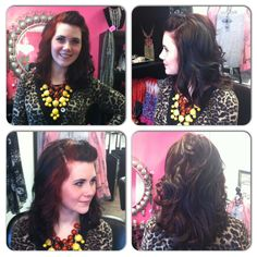 Avery Bella Hair Studio, Plainfield, IN. Salon Manager, Courtney.  Her hair by stylist Katie Groover.  Check us out 317-268-4022!