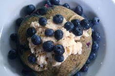 Blueberry Microwave Cake!