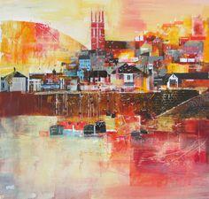 'Evening Light, Brixham' Nagib Karsan