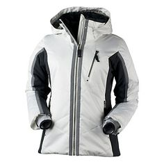 2d8f7b66e4 Obermeyer Mackenzie Petite Womens Insulated Ski Jacket- in red Insulation