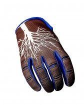 Gloves NoLeaf CAPITA II brown/blue