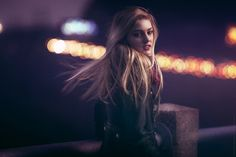 Katie: An Evening Nightlife Portrait by Nathaniel Dodson on 500px