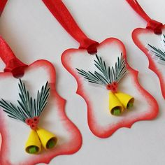 Image of quilled gift tags by gericards