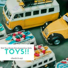 Did you know Ezyshoponline sells TOYS! Toys Online, Predator, Games, Instagram Posts, Car Parts, Gaming, Plays, Game, Toys