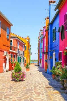 Visit Torcello, Murano and Burano—three islands in the Venetian Lagoon—on this motorboat tour from Venice, Italy. Places Around The World, Oh The Places You'll Go, Travel Around The World, Places To Travel, Around The Worlds, Travel Destinations, Italy Vacation, Italy Travel, Vacation Spots