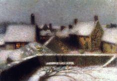 Henri Le Sidaner - 1902  The Athenaeum - The Terrace (Henri Le Sidaner - No dates listed)