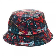 b1d56701397 Marvel Comics Deadpool All Over Print Bucket Costume Cap Hat     Learn more  by