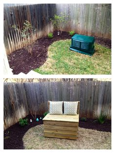 Diy Cover Utility Boxes In Your Yard Deck Backyard
