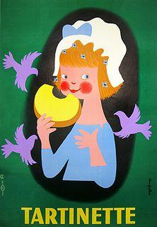 Alain Gauthier, Tartinette, 1950.