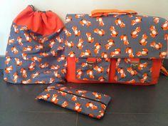 Creatiefsels: Nogmaals een boekentas, dit maal voor voor neefje Tuur!!!