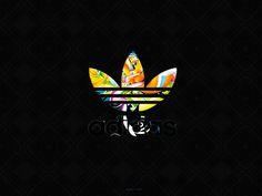 Adidas Black Background Logo 19 33935 HD Images Wallpapers Wallpaper