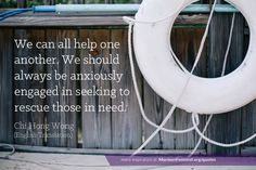 We can all help one another. We should always be anxiously engaged in seeking to rescue those in need. -Chi hong Wong #lds #mormon #ldsconf #ldsconference mormonfeminist.org