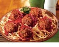 """Make Vegan """"Better than Meatballs"""" (my lentil walnut recipe) and serve with Tomato Basil Marinara Sauce and Pasta or Spaghetti Squash.  For meat eaters,  I have a Veal Meatballs with Tarragon recipe from the Tolley/Mead Herb book that I used to make substituting ground turkey, absolutely delicious."""