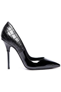 Diego Dolcini Black Pumps Fall-Winter 2012 #Shoes #Heels