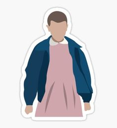 'Stranger Things Eleven El Minimalist' Sticker by danihops – Car stickers Stranger Things Tumblr, Stranger Things Quote, Stranger Things Steve, Stranger Things Aesthetic, Stranger Things Netflix, Stickers Kawaii, Cool Stickers, Printable Stickers, Illustrations Vintage