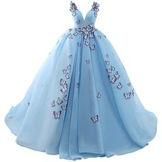 JoJoBridal Women's A Line Tulle Beaded Long Evening Prom Dresses Ball... ($87) ❤ liked on Polyvore featuring dresses, gowns, long dresses, long beaded gown, prom gowns, blue cocktail dress, long prom dresses and evening gowns