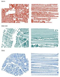 reorganized cities. i love maps. by Anabel Lebro