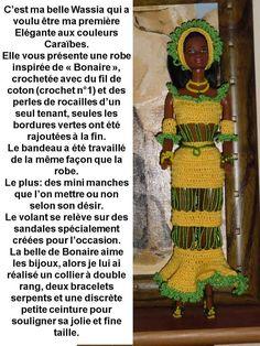 de Plaminette Barbie, Crochet, Creations, Seed Beads, Beginning Sounds, Color, Dress, Crochet Crop Top, Chrochet
