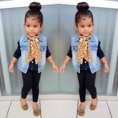 Little girl fashion Cute Kids Fashion, Little Girl Fashion, Toddler Fashion, Toddler Outfits, Look Fashion, Outfits Niños, Kids Outfits, Cute Little Girls Outfits, Toddler Girl Style
