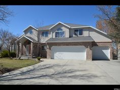 Find the Best #SaltLakeCity #Home 2 Story has a large Kitchen, 3 decks on the home, 2 year old Furnaces, Central Air, 3 car garage, vaulted ceilings. 8068 S TWELVE PINES DR., Sandy UT 84094