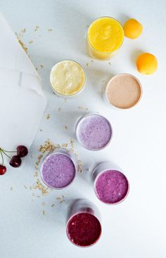 Summerlicious fruit smoothies – 7 ingredients 7 smoothies