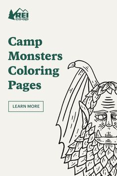Keep yourself entertained with Camp Monsters coloring pages. From the legendary Tahoe Tessie to the infamous Batsquatch, there's a monster for everybody. Cartoon Network Adventure Time, Adventure Time Anime, Campfire Fun, Monster Coloring Pages, Cross Country Trip, The Mountains Are Calling, Scary Stories, Princess Bubblegum, Marceline