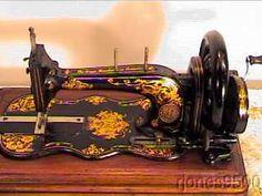 1878 Singer Hand Crank Sewing Machine Mod 12 Fiddlebase | eBay