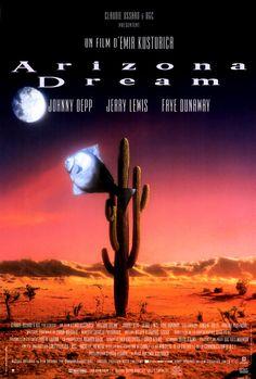 johnny depp movie posters | Johnny Depp Arizona Dream French Movie Reproduction Poster